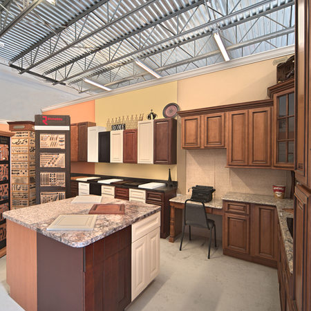 Kitchen Cabinets with Center Island