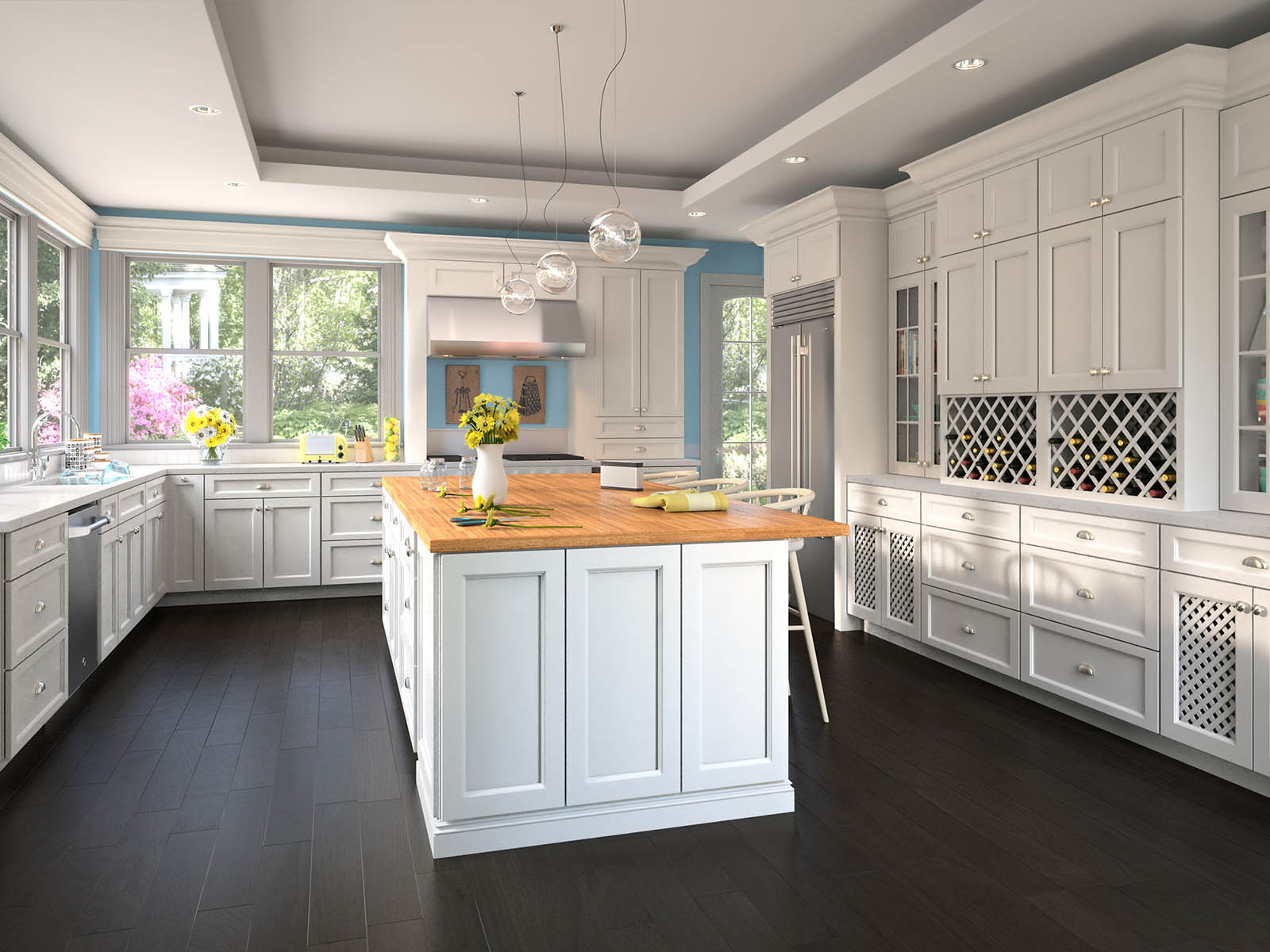 Kitchen Countertops Cabinets And